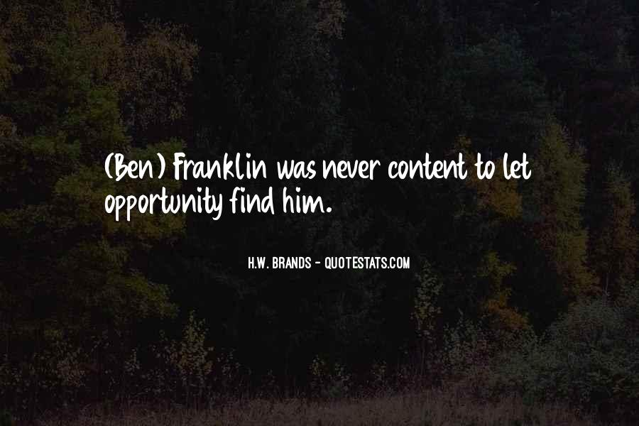 H.W. Brands Quotes #1232635