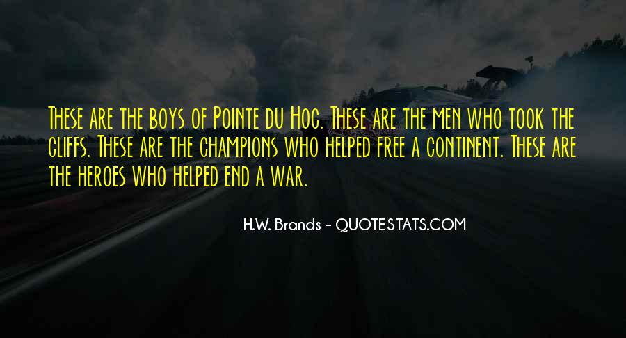 H.W. Brands Quotes #1325464