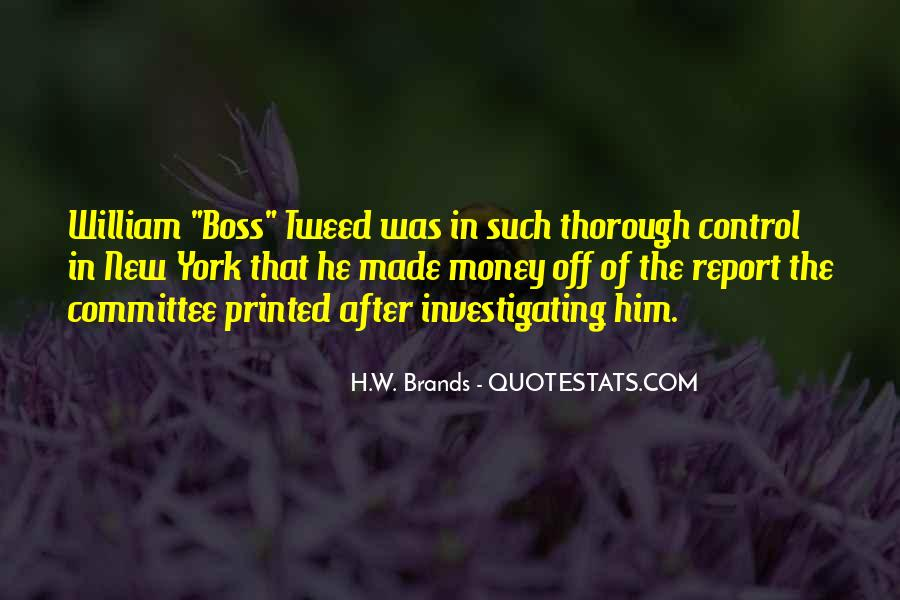H.W. Brands Quotes #136246