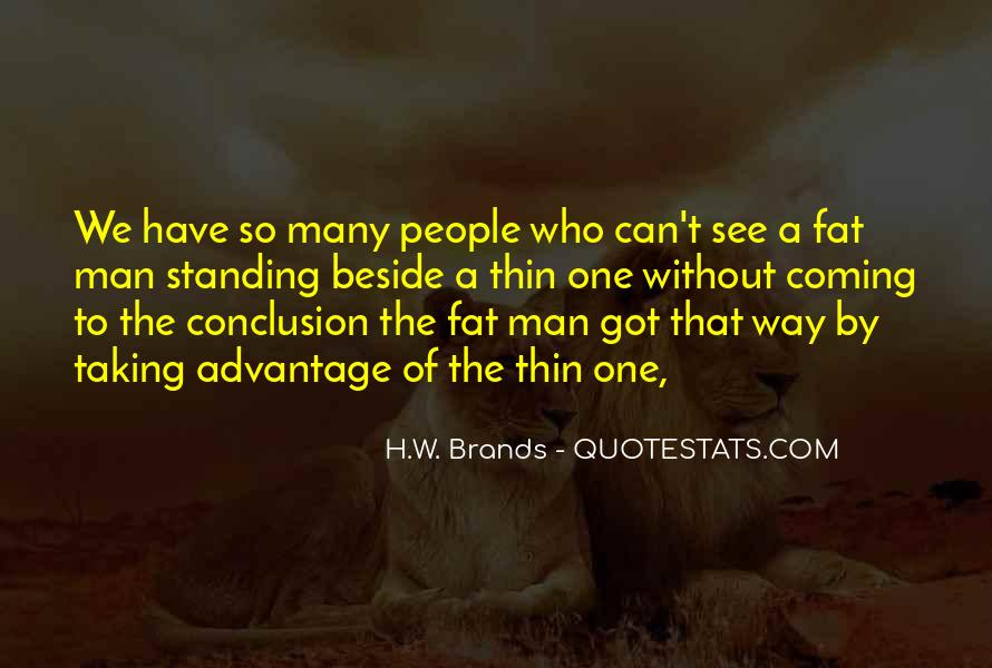 H.W. Brands Quotes #1467084