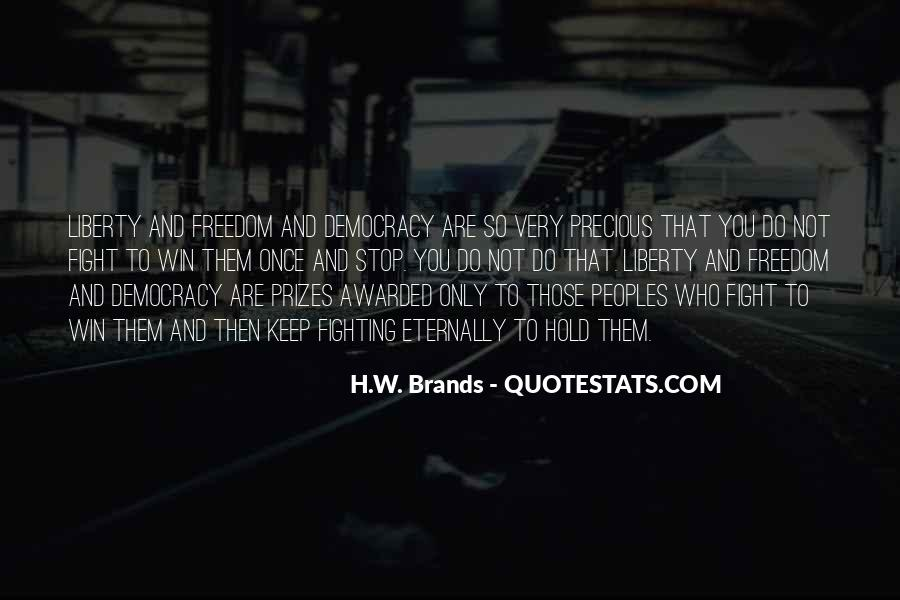 H.W. Brands Quotes #1676521