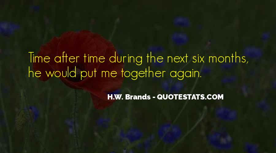 H.W. Brands Quotes #354204