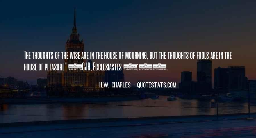 H.W. Charles Quotes #1103430