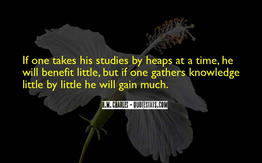 H.W. Charles Quotes #1537751