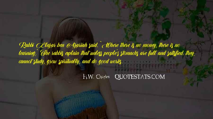 H.W. Charles Quotes #598391