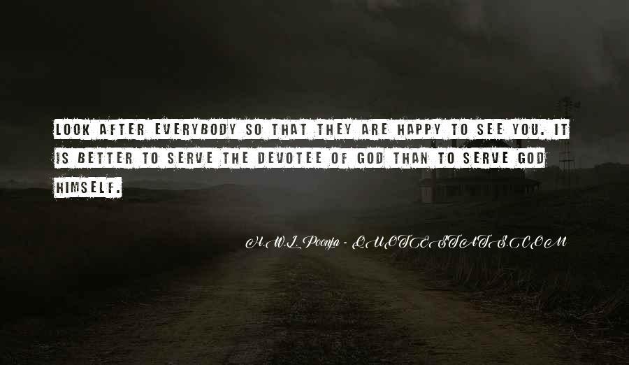 H.W.L. Poonja Quotes #1250133