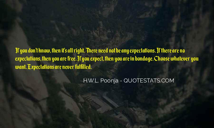 H.W.L. Poonja Quotes #311070