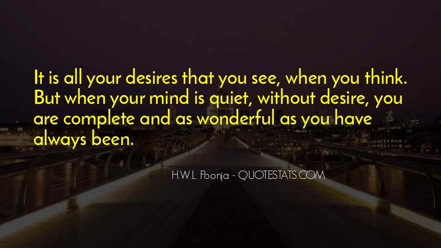 H.W.L. Poonja Quotes #702434