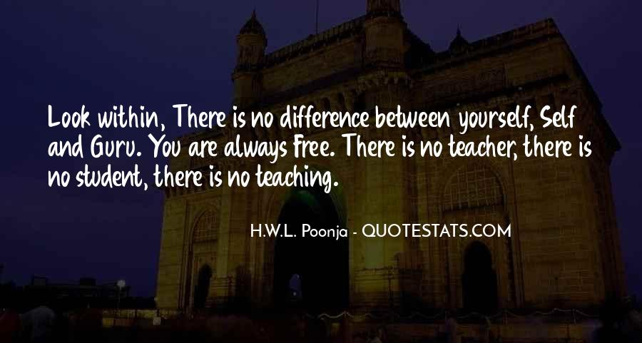H.W.L. Poonja Quotes #744893