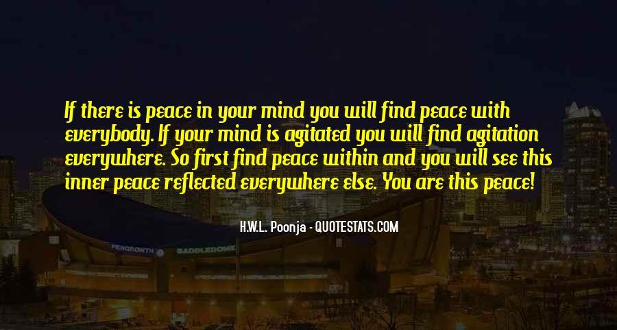 H.W.L. Poonja Quotes #756884