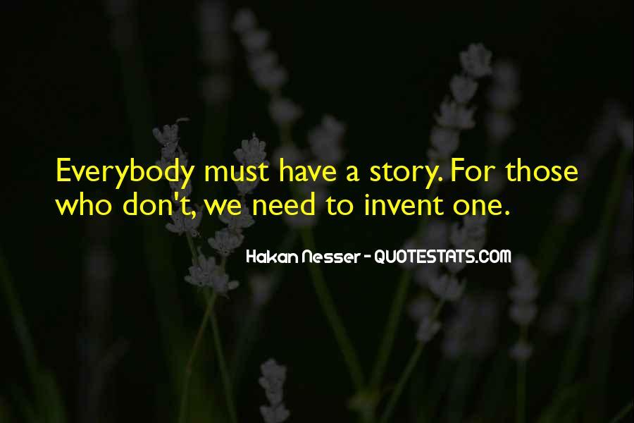 Hakan Nesser Quotes #1382586