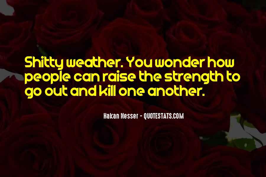 Hakan Nesser Quotes #173916
