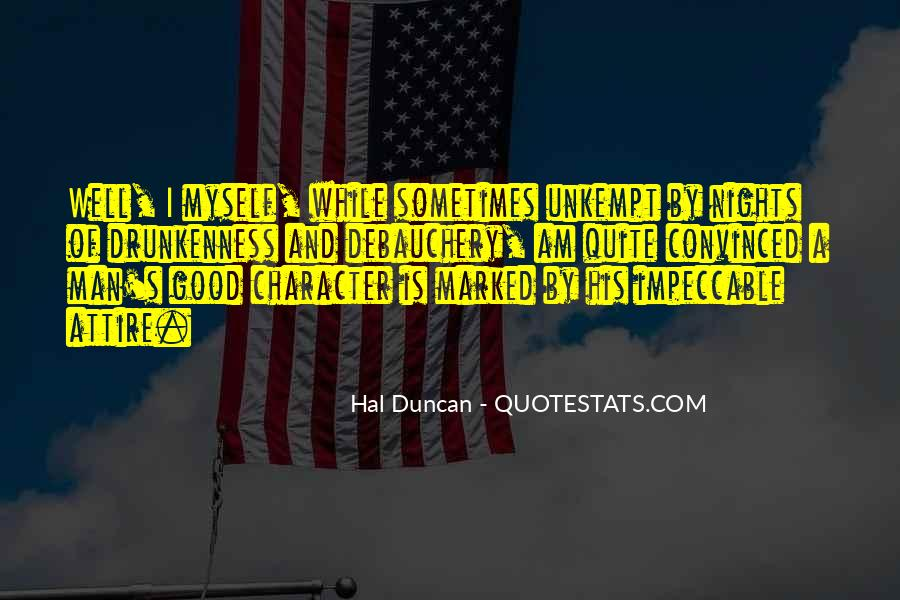 Hal Duncan Quotes #1114739