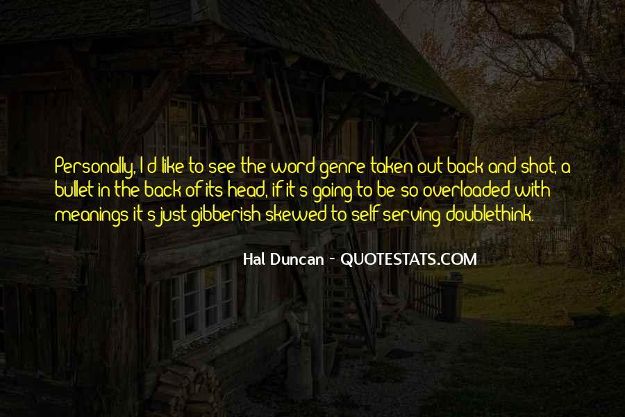 Hal Duncan Quotes #1132635