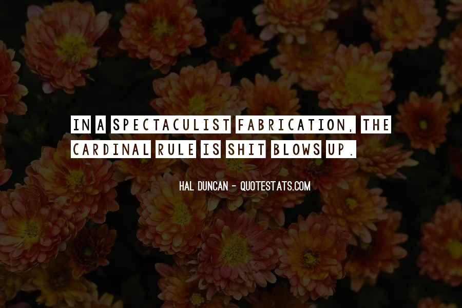 Hal Duncan Quotes #1295052