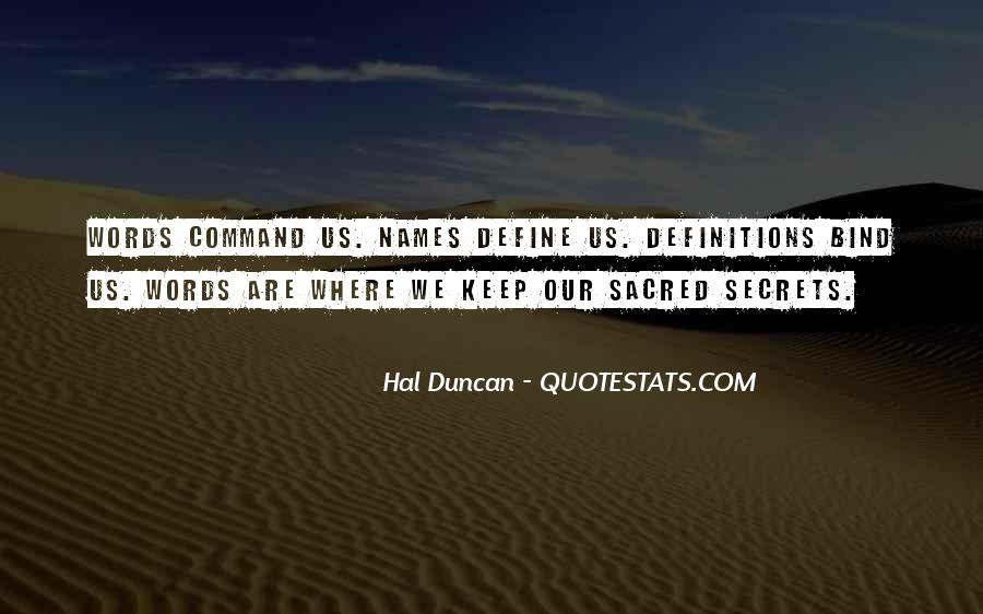 Hal Duncan Quotes #1555598