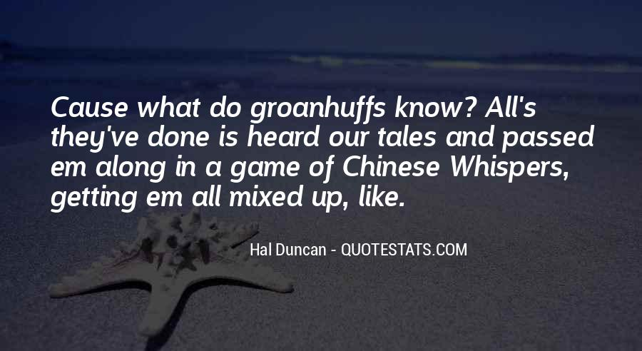 Hal Duncan Quotes #303894