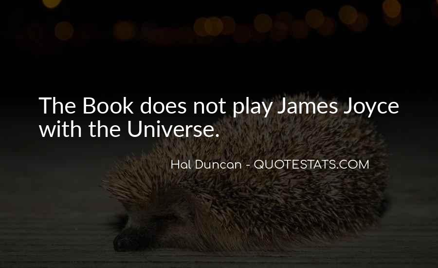 Hal Duncan Quotes #409226