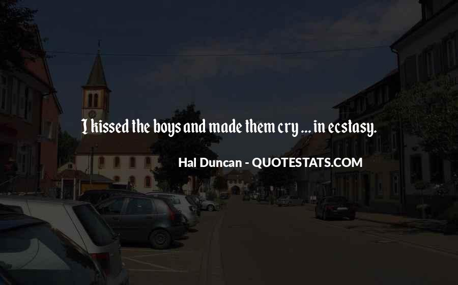 Hal Duncan Quotes #837172