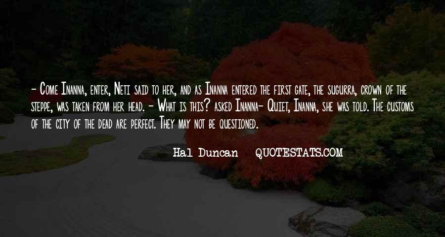 Hal Duncan Quotes #86736
