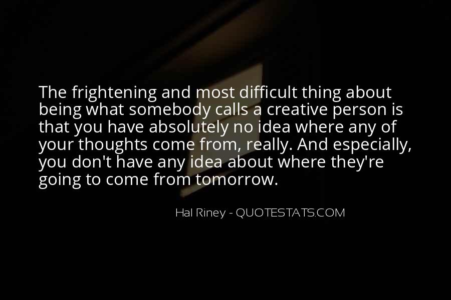 Hal Riney Quotes #1223721