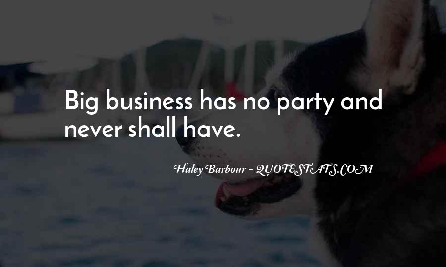 Haley Barbour Quotes #415040
