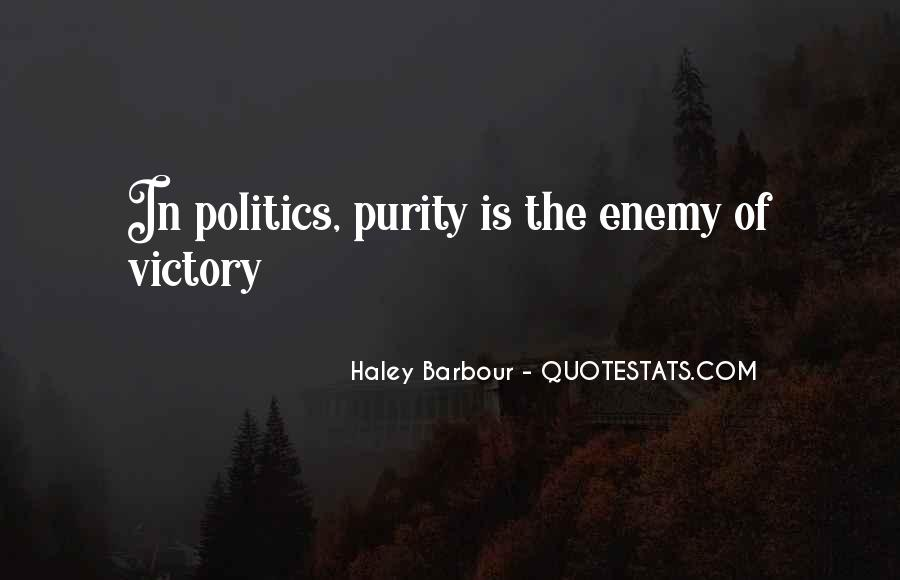 Haley Barbour Quotes #949408