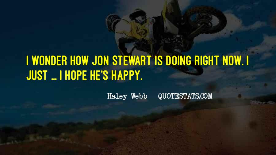 Haley Webb Quotes #382348