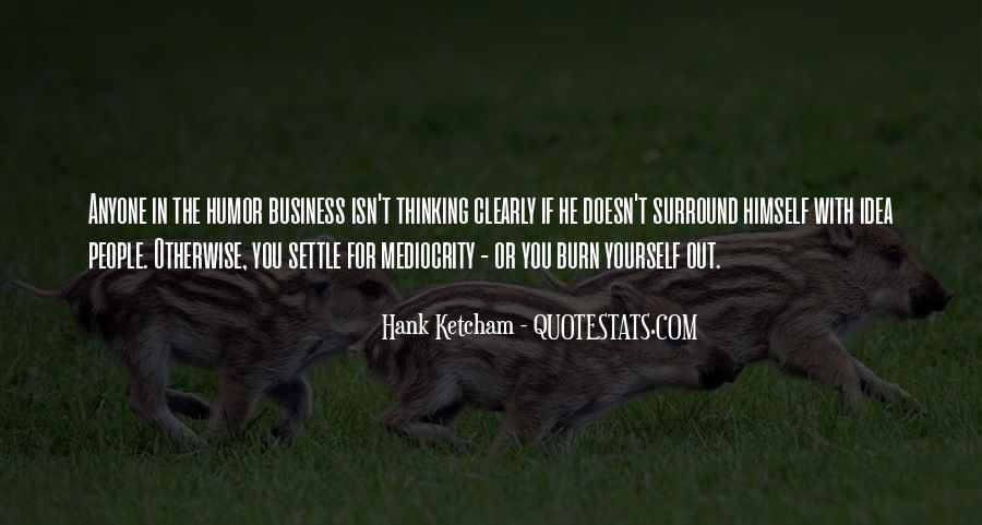 Hank Ketcham Quotes #944075