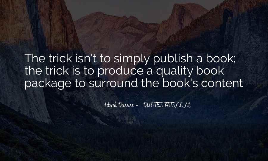 Hank Quense Quotes #1415291