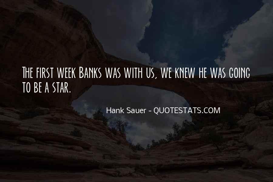 Hank Sauer Quotes #814959