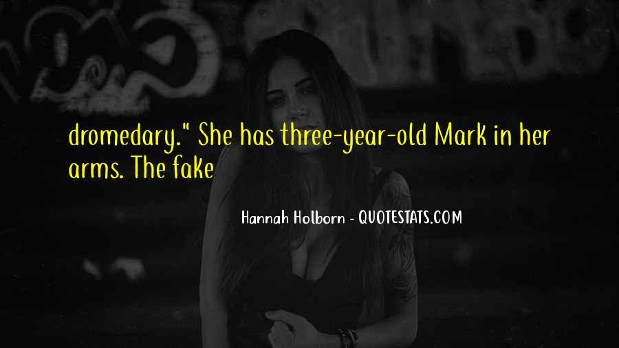 Hannah Holborn Quotes #68540