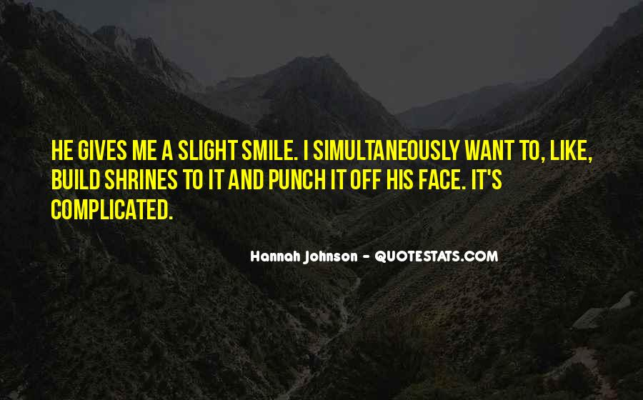 Hannah Johnson Quotes #1511128