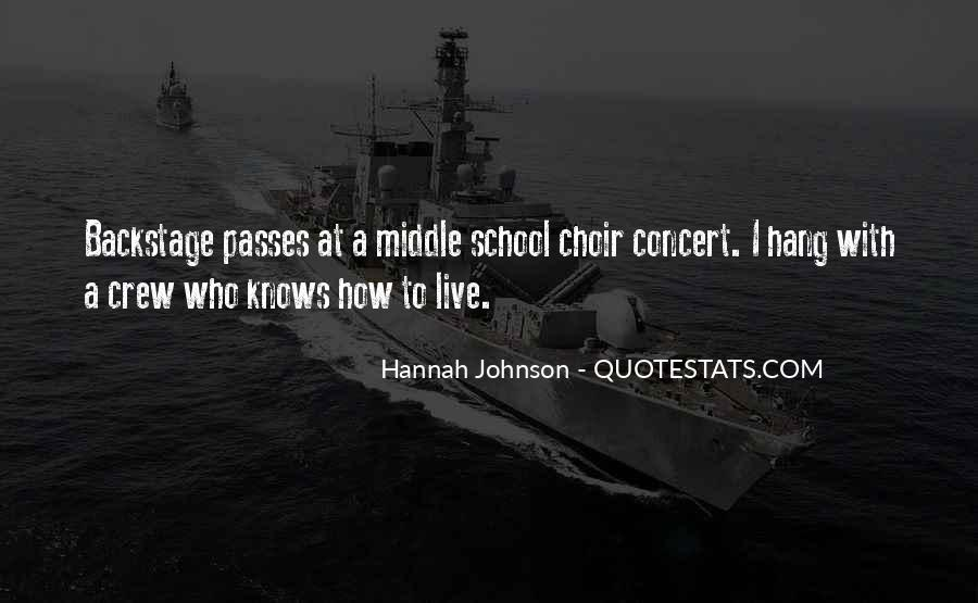 Hannah Johnson Quotes #564123
