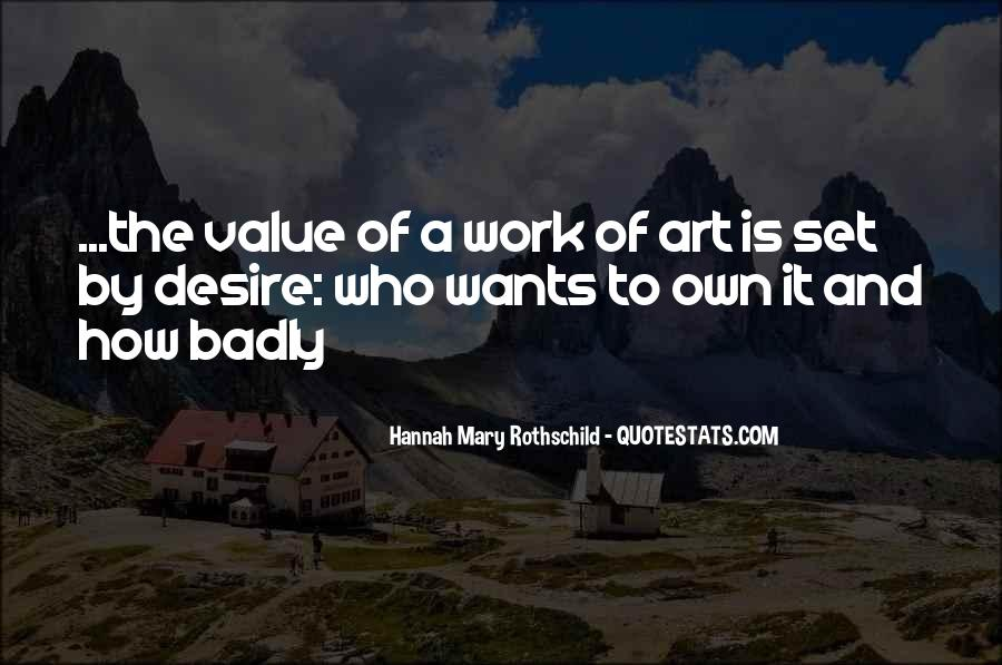 Hannah Mary Rothschild Quotes #1620806