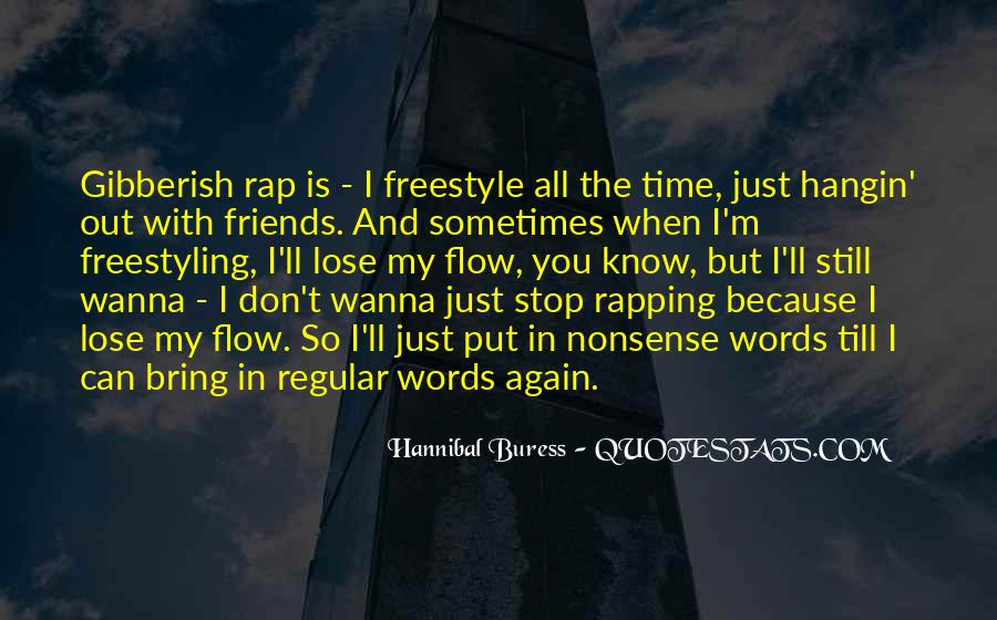 Hannibal Buress Quotes #1620557