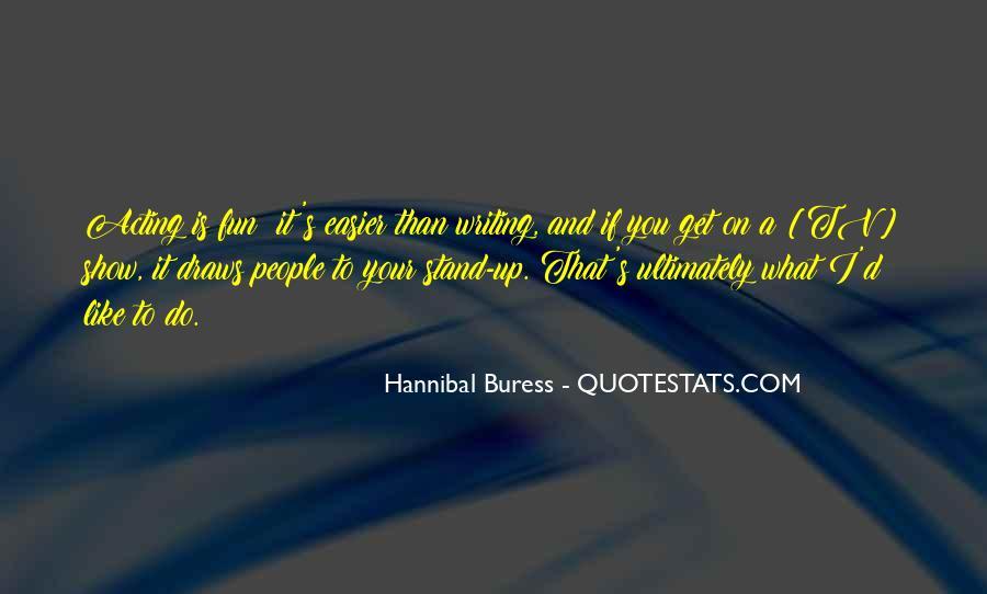 Hannibal Buress Quotes #1707517