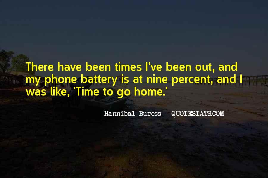 Hannibal Buress Quotes #191117