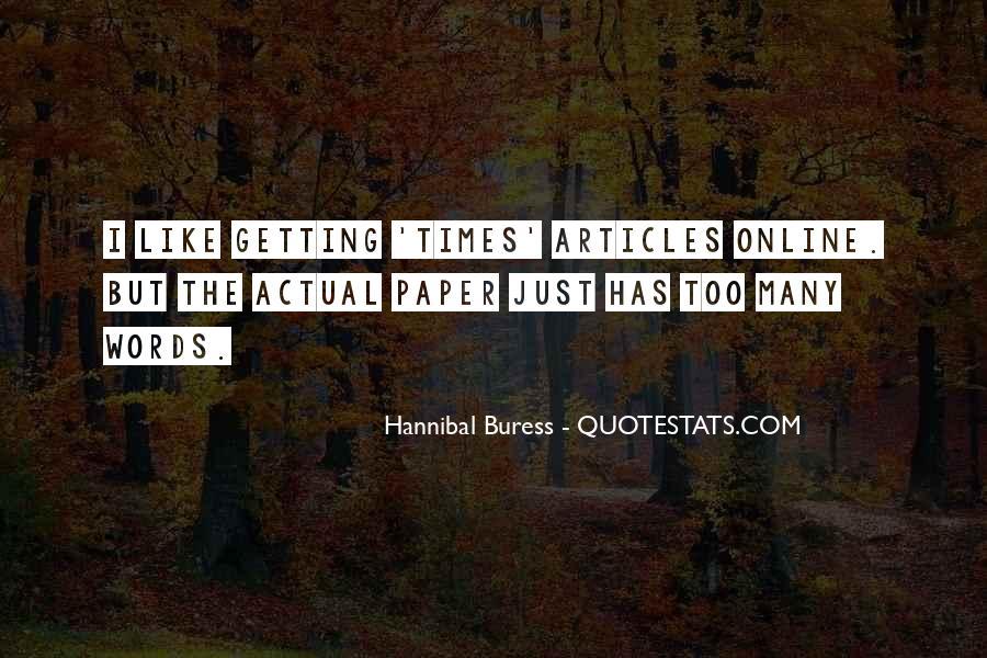 Hannibal Buress Quotes #416364