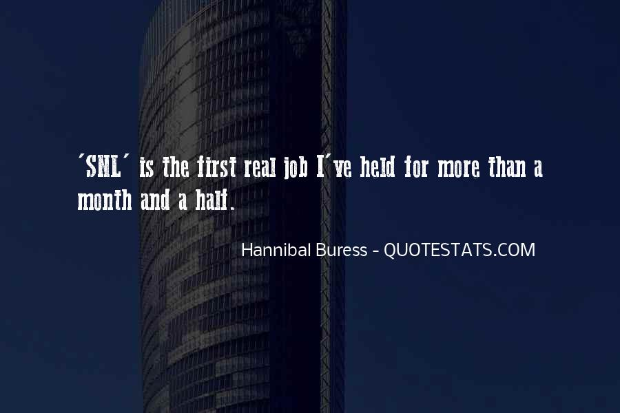 Hannibal Buress Quotes #518314