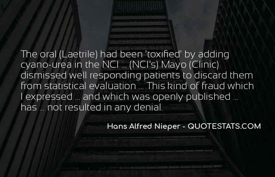 Hans Alfred Nieper Quotes #770941