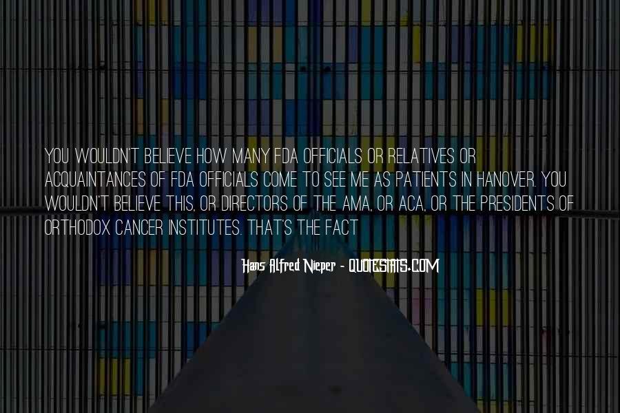 Hans Alfred Nieper Quotes #918901