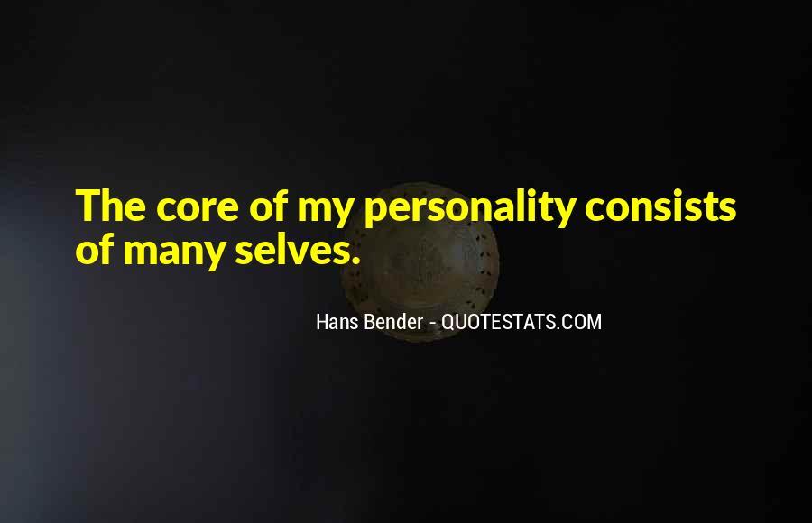 Hans Bender Quotes #162324