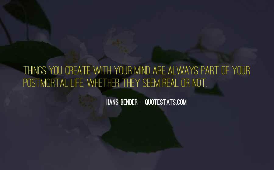 Hans Bender Quotes #657982