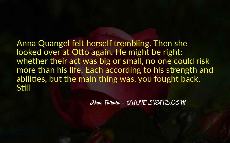 Hans Fallada Quotes #1447324