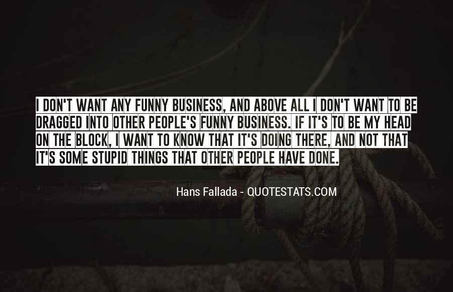 Hans Fallada Quotes #420969