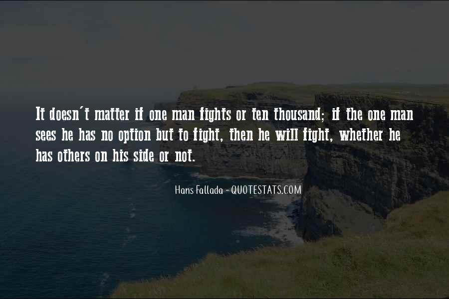 Hans Fallada Quotes #494519