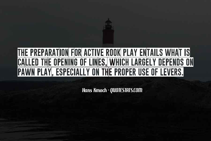 Hans Kmoch Quotes #1183341