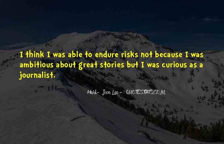 Hark-Joon Lee Quotes #117576