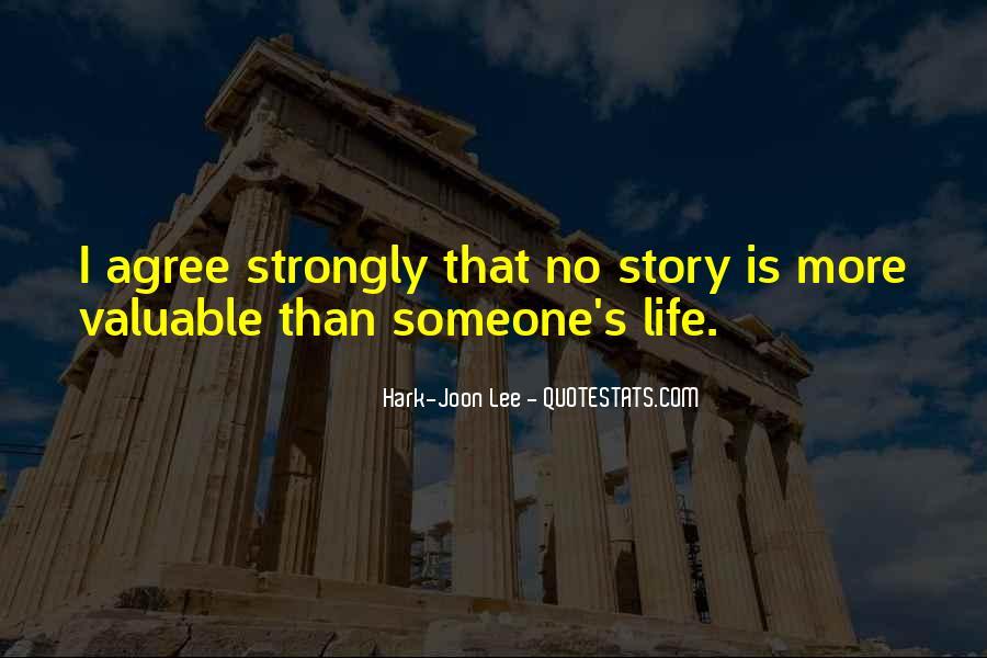 Hark-Joon Lee Quotes #1426972